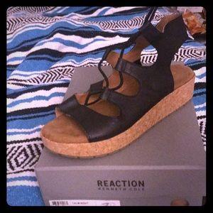 Platform Ghillie Sandals